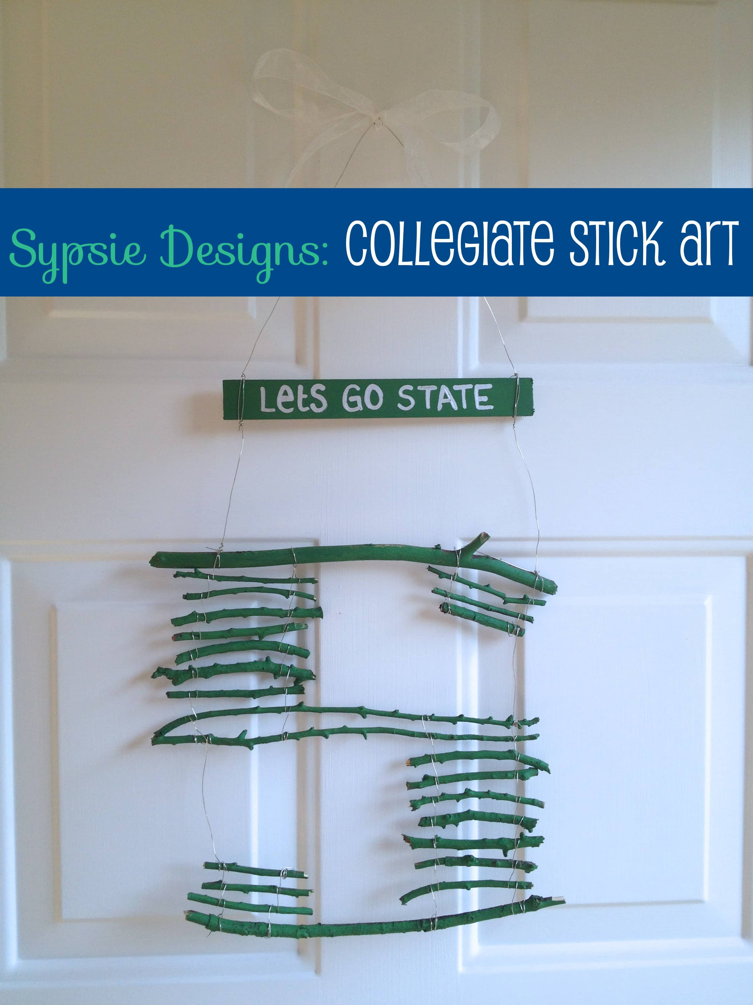 Collegiate Stick Art