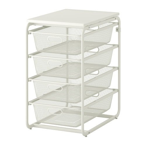 Algot Frame With Mesh Baskets Top Shelf 0171705 Pe329283 S4