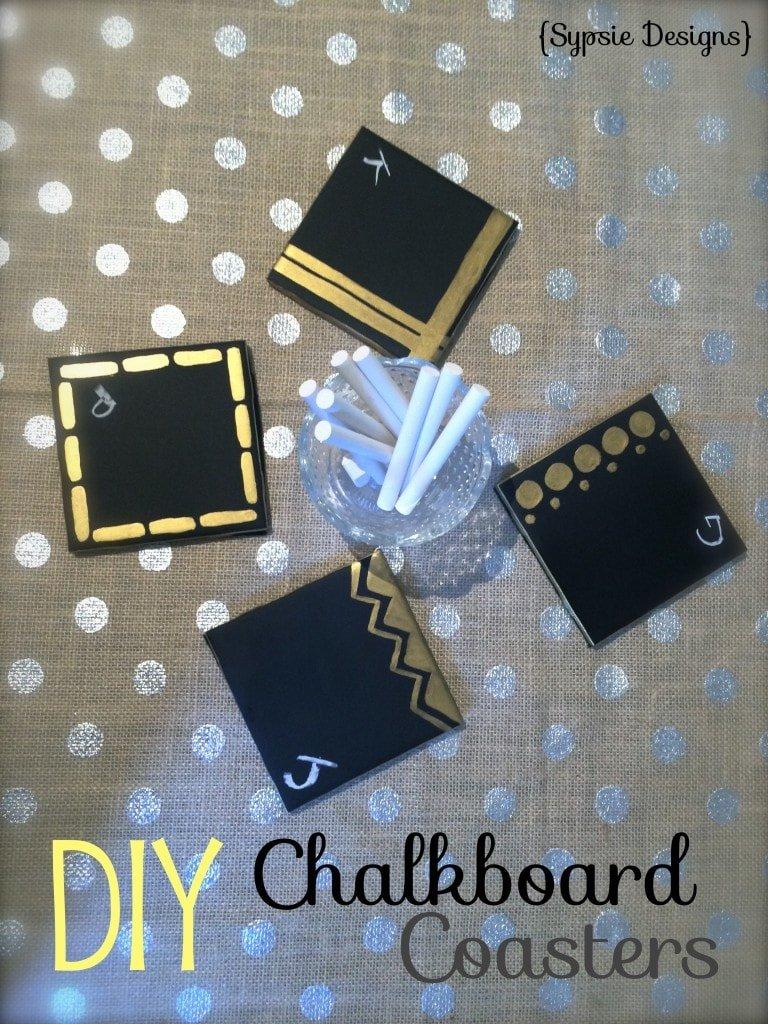 DIYChalkboardCoasters