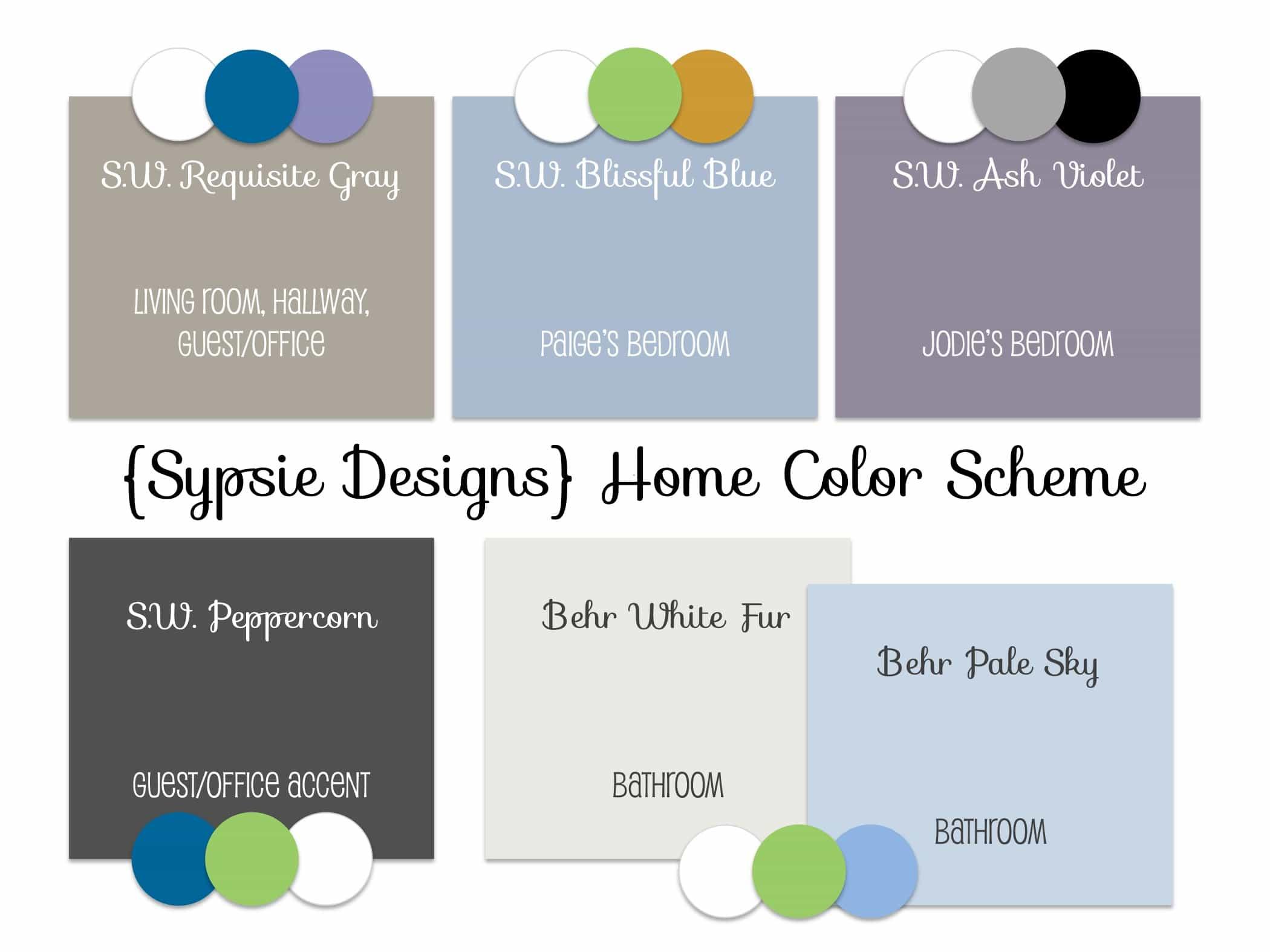 Home Color Scheme