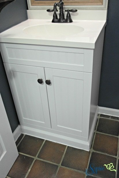 Built In Bathroom Vanity Diy Sypsie Designs