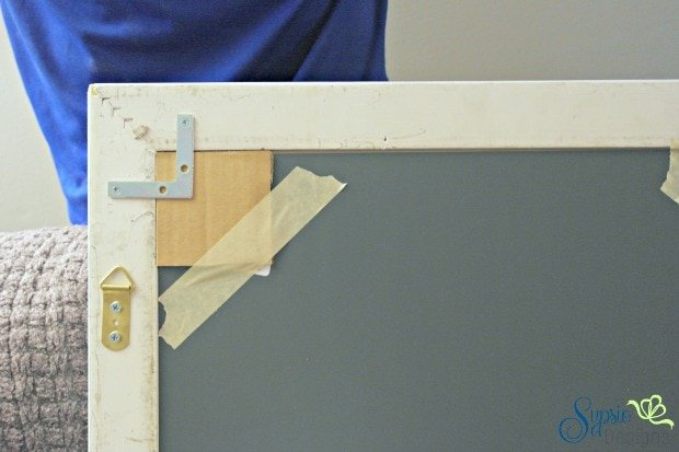 DIY Window Mirrors from Old Frames - Sypsie Designs