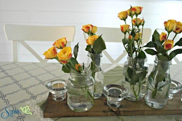 Easy Rustic Centerpiece - Sypsie Designs