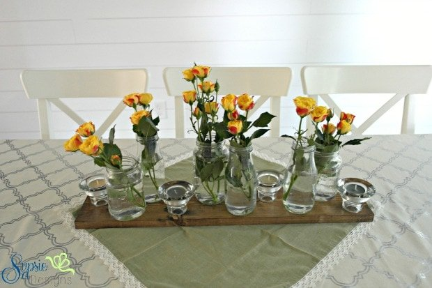 Easy Rustic Centerpiece