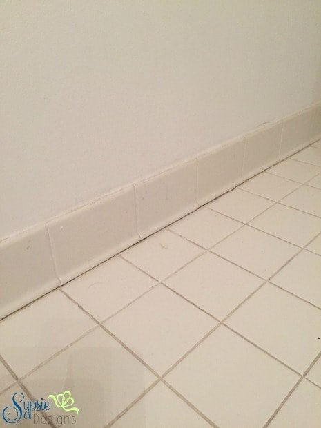 One Room Challenge- Removing Wall Tile - Sypsie Designs