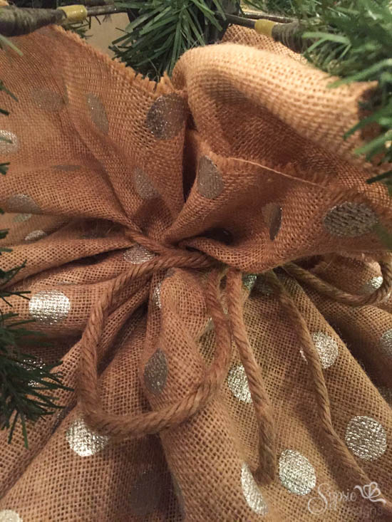 Brand-new Burlap Christmas Tree Wrap - A Skirt Alternative - Sypsie Designs AL11