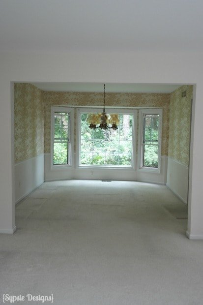 Dining Room (Before)-  Sypsie Designs