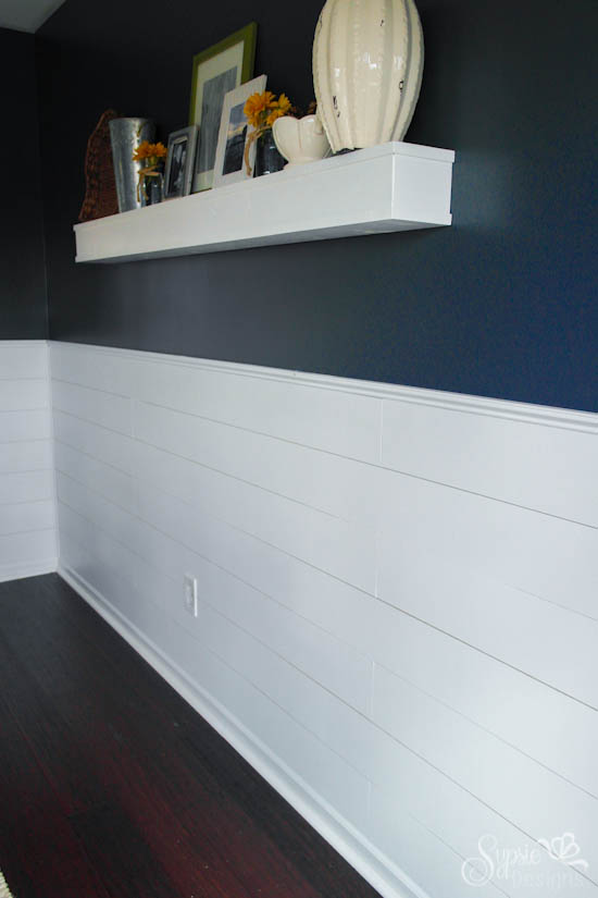 DIY Shiplap Inspired Wall Tutorial An Easy And Inexpensive Project