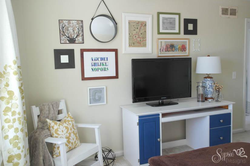Quick Guest Room Transformation & Gallery Wall - Sypsie Designs