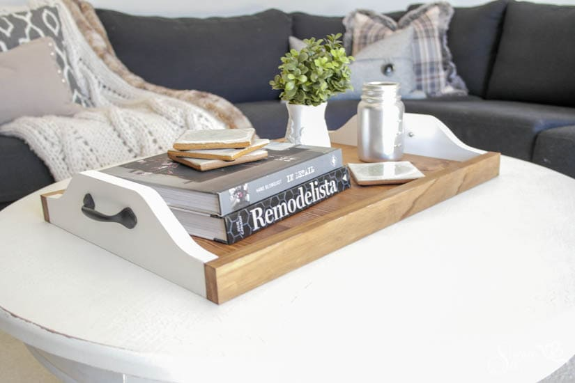 Easy DIY Wood Tray - Sypsie Designs