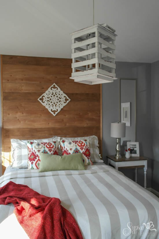 Guest Bedroom Inexpensive Makeover - One Room Challenge - Sypsie Designs