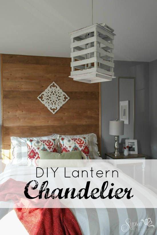 DIY Lantern Chandelier