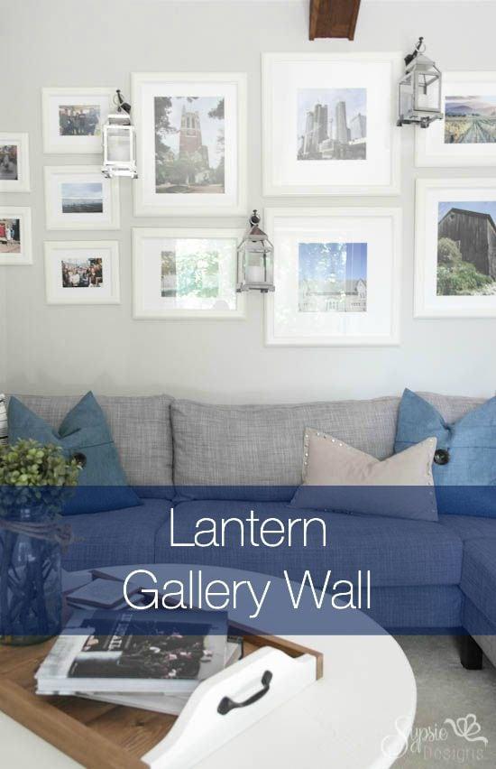 Lantern Gallery Wall - Sypsie.com