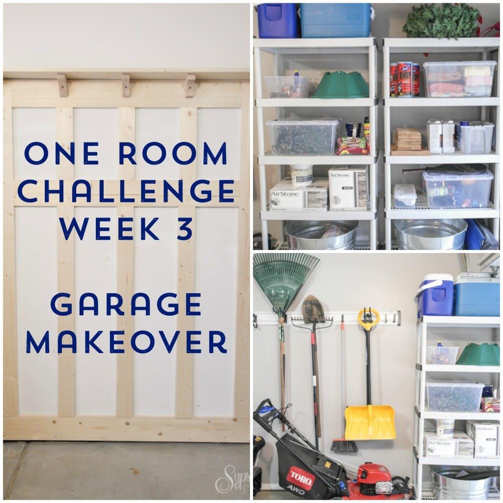 Garage Makeover - ORC Week 3 - Sypsie Designs