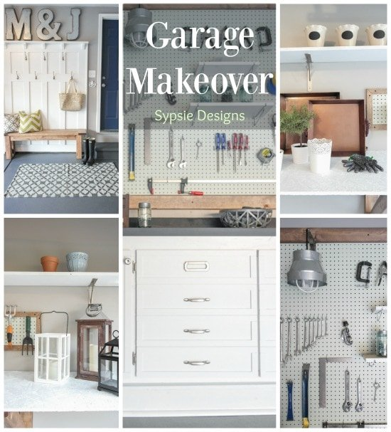 Garage Makeover - Sypsie.com