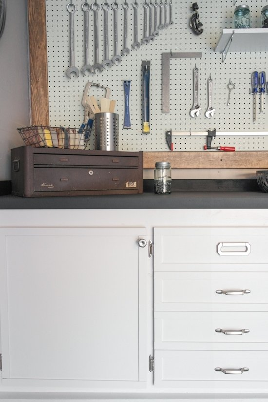 Garage Makeover - One Room Workbench Challenge - Sypsie.com