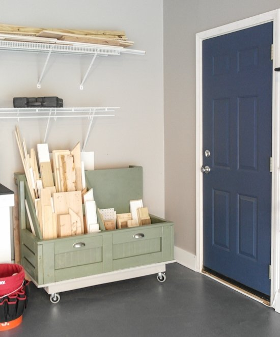 Garage Organization Makeover - One Room Challenge - Sypsie.com
