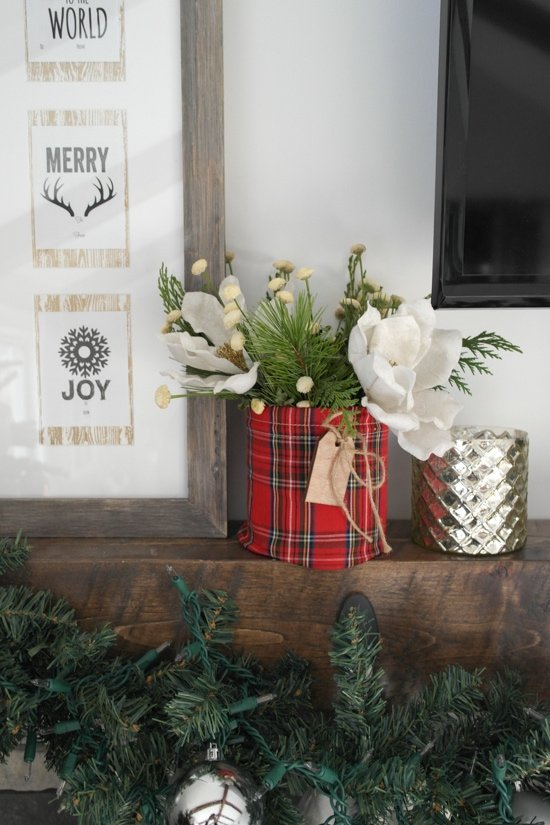 Christmas Mantle - Sypsie.com