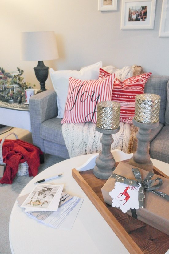 Living Room Christmas Decor - Sypsie.com
