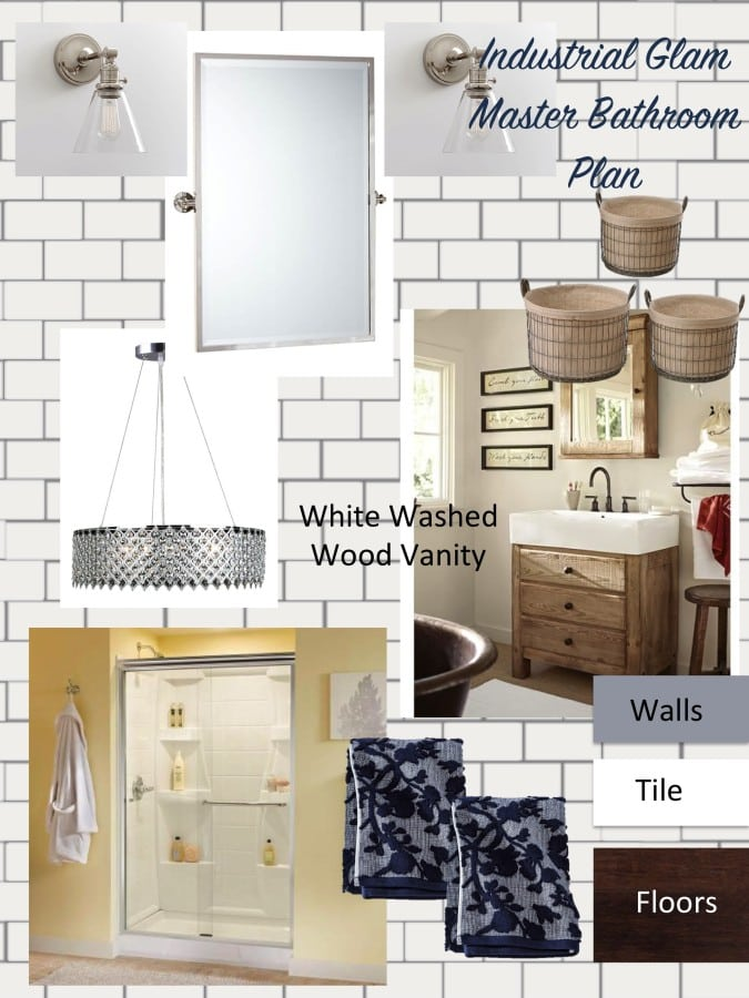 One Room Challenge – Week 1 – Master Bath