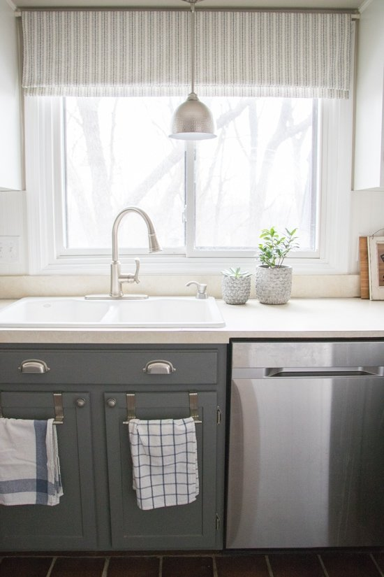 Home tour for Kitchen upgrades on a budget