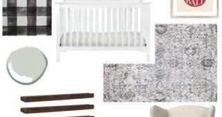 Baby Boy Nursery – One Room Challenge – Week 1