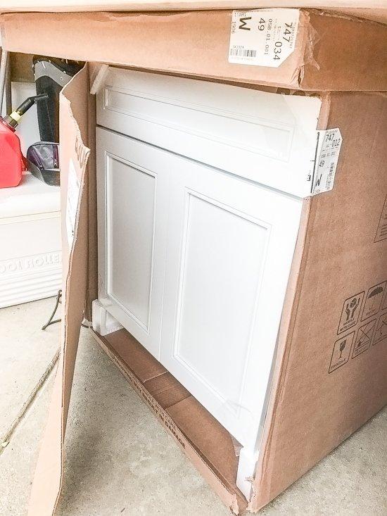 Kitchen Cabinet Install Part 1 - Sypsie Designs on
