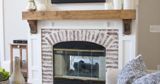 Updating an Old Fireplace – Progress!
