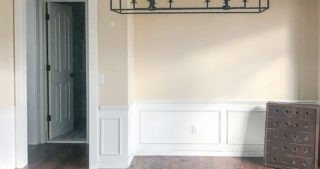Dining Progress – Removing Old Wainscoting