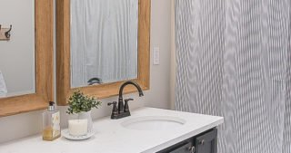 Easy Hall Bathroom Overhaul