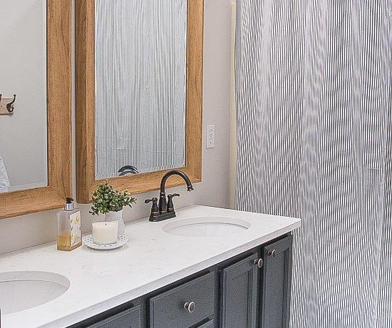 Easy Hall Bathroom Overhaul