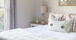 Easy & Inexpensive Guest Bedroom Updates - Sypsie.com