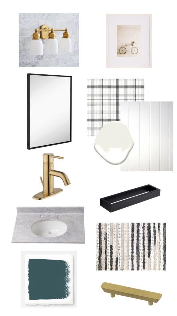 Modern Half Bath Plans - Sypsie.com