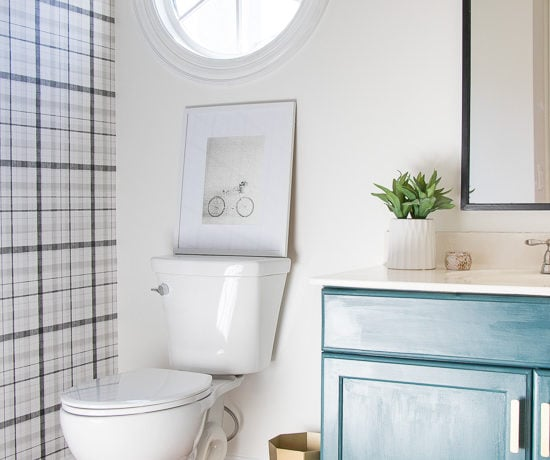 Modern Half Bathroom Progress - Sypsie.com