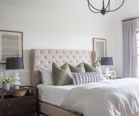 Master Bedroom Makeover - Sypsie Designs