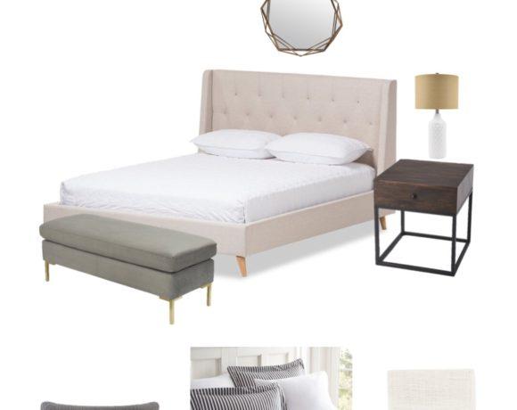Budget Modern Bedroom Design - Sypsie Designs
